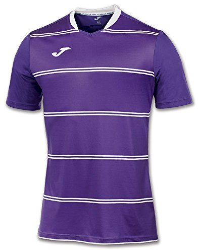 Joma Men's 100159.550 Short Sleeve T-Shirt - Purple/Purple, 2X-Small by Joma