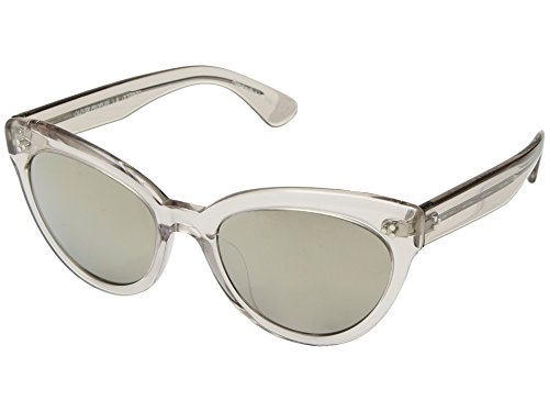 Oliver Peoples Eyewear Women's Roella Sunglasses, Dune/Taupe Flash Mirror, One Size