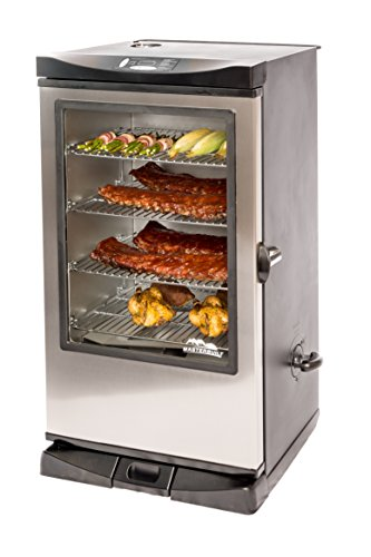 Masterbuilt 20075315 Front Controller Smoker With Viewing Window And Rf Remote Control  40 Inch