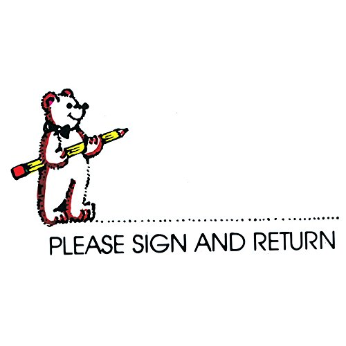 Rubber Stamp Please Sign - 7