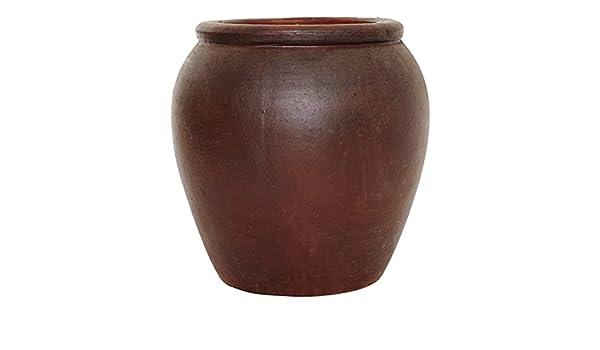 71 cm Ironstone Tinaja planter/marihuana/envase: Amazon.es: Jardín