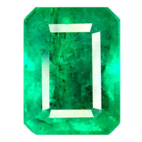 (0.98 Ct. Natural Emerald from Colombia - Emerald Cut - Loose)
