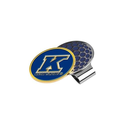 NCAA Kent State Golden Flashes Golf Hat Clip with Ball (Kent State Flashes Golf Ball)