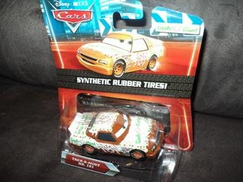 Disney / Pixar CARS Movie 1:55 Die Cast Car Motor Speedway of the South #101 (Speed Tach)