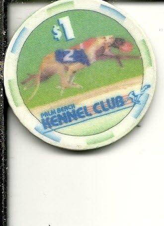$1 daytona beach kennel club casino chip florida