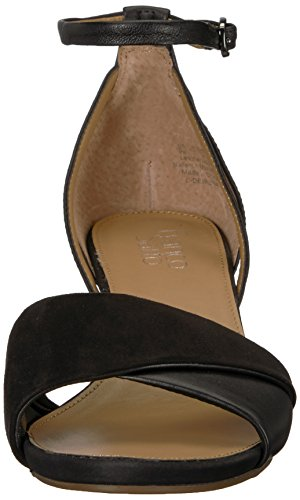 Women's Sarto Deirdra 5 Franco W Sandal US 6 Wedge Black f05Exwd