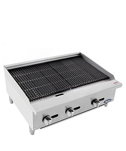 ATOSA Grill:HD 36-in Radiant Broiler - 105,000 BTU NG/LP