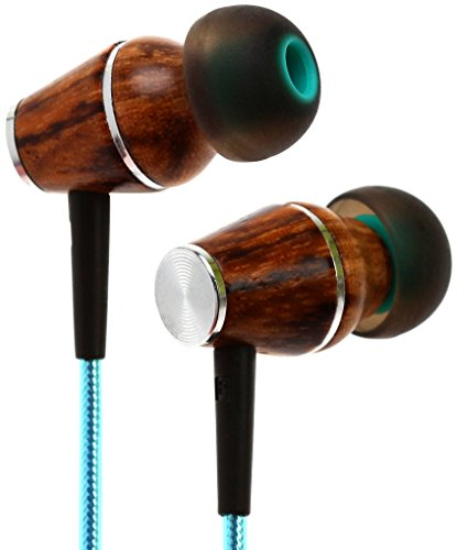 Symphonized XTC 2.0 Earbuds with Mic | Premium Genuine Wood Stereo Earphones | Hand-made In-ear Noise-isolating Headphones with Tangle-free Innovative Shield Technology Cable – Celestial Star Review