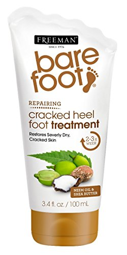 Barefoot Cracked Heels Treatment By Freeman for Unisex - 3.4 Oz Treatment, 3.4 Ounce