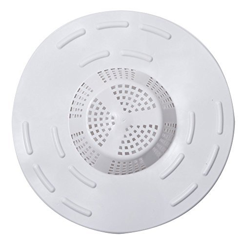 Hair Snare Drain Cover Universal - White (2 Pack)