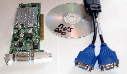 HP Nvidia Quadro NVS280 64MB Dual VGA Low Profile SFF PCI Video Graphics Card - 64mb Ddr Pci Video Card