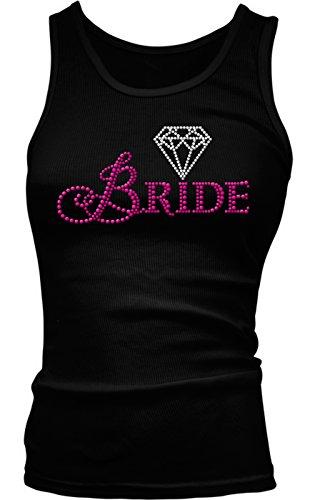 Rhinestone Bride Diamond Wedding Juniors