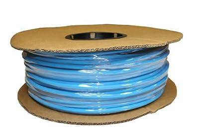 ATP Surethane Polyurethane Metric Plastic Tubing, Light Blue, 4 mm ID x 6 mm OD, 100 meters Length