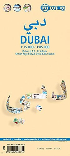 Download Laminated Dubai Map by Borch (English Edition) pdf