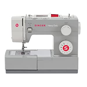 SINGER 4411 Heavy Duty Sewing Machine with 11 Built-in Stitches, Metal Frame and Stainless Steel Bedplate