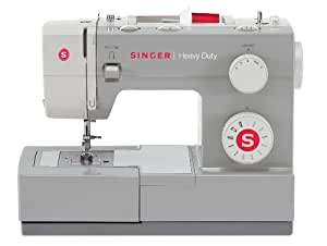 SINGER 4411 Heavy Duty Extra-High Sewing Speed Sewing Machine with Metal Frame and Stainless Steel Bedplate