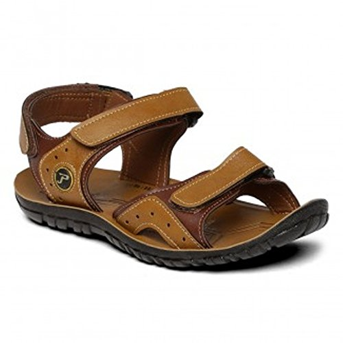 90bb16ce0 Paragon Stylish Men s Sandals size 7 (Brown)  Buy Online at Low ...