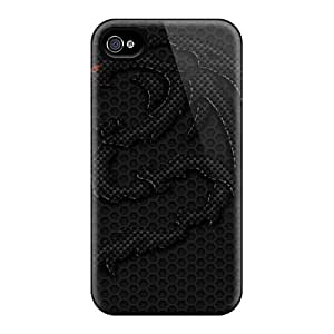 New Style GG Fan Carbon Dragon Premium Tpu Cover Case For Iphone 4/4s