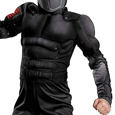 Disguise Costumes G.i. Joe Retaliation Snake Eyes Classic Muscle Costume: Toys & Games