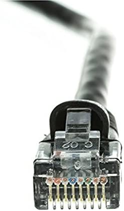 CNE490408 Snagless//Molded Boot 35 Feet Black Cat5e Ethernet Patch Cable