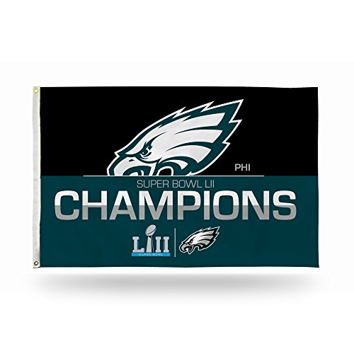 Nfl Philadelphia Eagles Super Bowl Lii Champions 3 X 5 Banner Flag