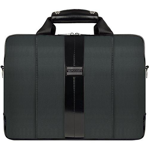 VanGoddy Charcoal Gray Messenger Bag Suitable for Lenovo