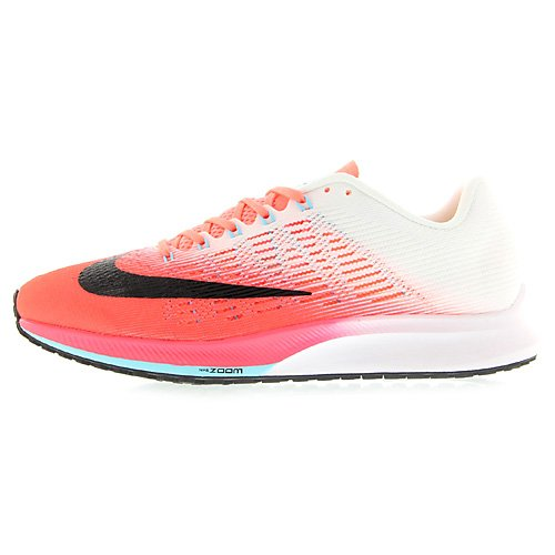 Nike Wmns Air Zoom Elite 9, Scarpe Running Donna Rosso (Hot Punch/White/Lava Glow/Black)