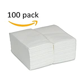 Perfect Stix Guest Towels Napkins-100ct Guest Towels, 12″ x 17″ (Pack of 100)