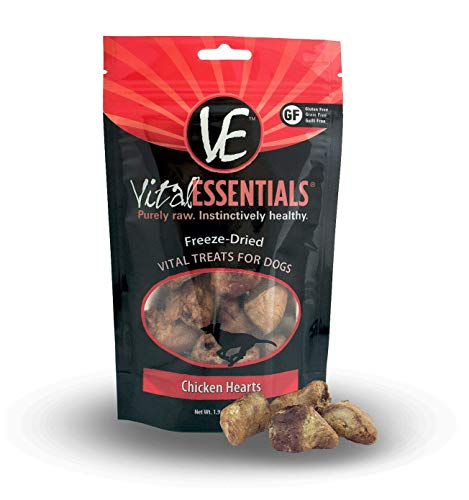 Vital Essentials Freeze-Dried Chicken Hearts 1.9oz