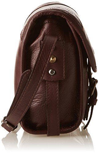 Bross Aridza 3747 - Crossed Red Women Bag (bordeaux)