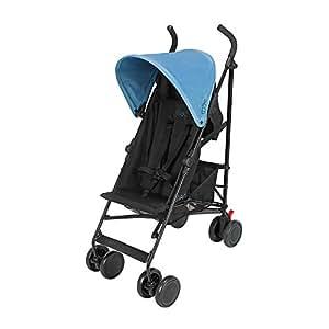 Maclaren M-02 Stroller, Black Bluebird