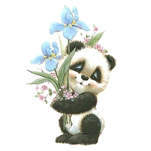 Whitelotous Panda 5D Diamond Painting Kit DIY Embroidery Cross Stitch Full Square Rhinestones Home Wall Decor Gifts 16