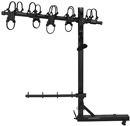 Hollywood Racks HR520 Road Runner 5-Bike Hitch Mount Rack 2-Inch Receiver