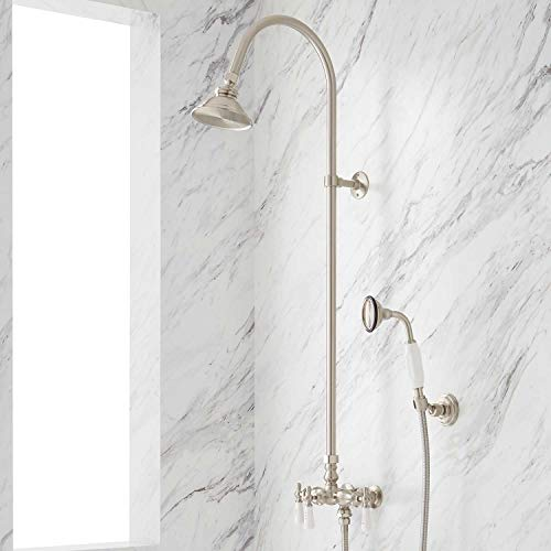 304383 Exposed Shower System with Shower Head and Handshower