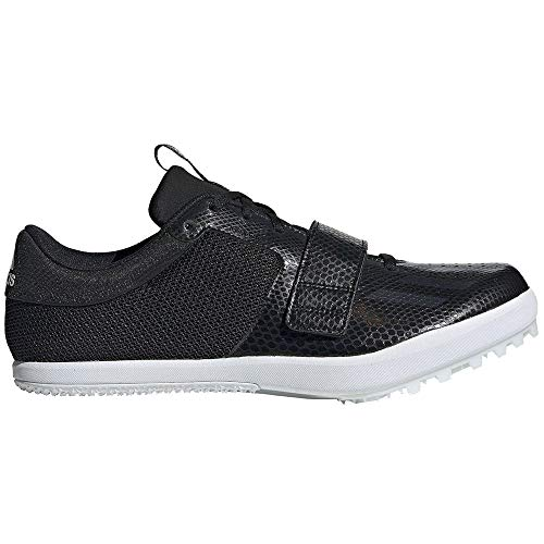 adidas Jumpstar Spike Shoe - Men's Track & Field 12 Core Black/White ()