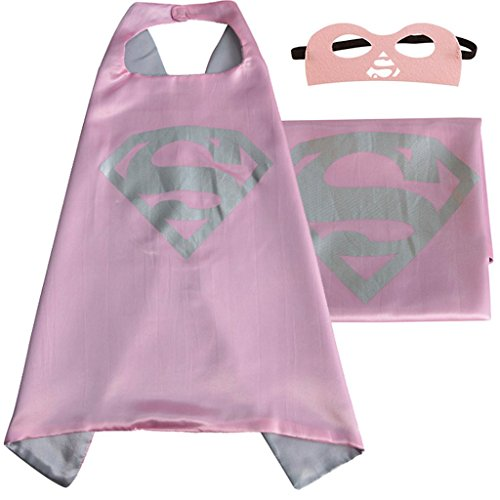 DC Comics Costume - Supergirl Logo Cape and Mask with Gift Box by Superheroes for $<!--$9.97-->