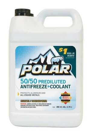 Prediluted Antifreeze Coolant, 1 gal.