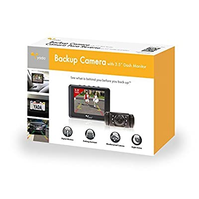 Yada Digital Wireless Backup Camera with Dash Monitor from The Rear View Camera Center