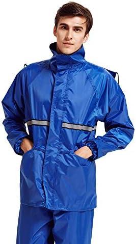 straight(ストレート)レインウェア レインスーツ レインコート 上下セット 通気メッシュ 着脱式合羽 雨具 防水 撥水 バイク 自転車 通湿性 耐久性 男女兼用 通学 通勤