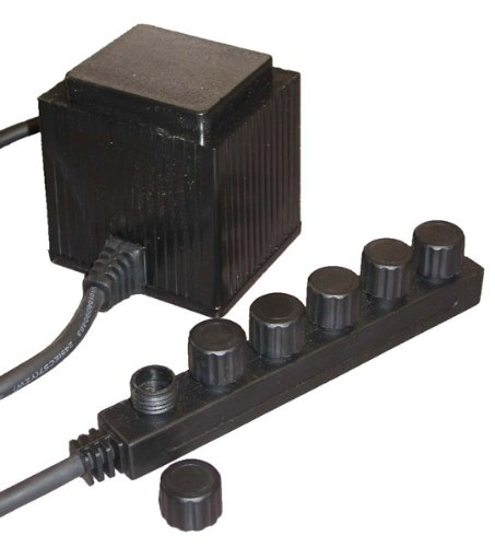 EasyPro MT60 60-Watt Transformer with 6 Outlets by EasyPro Pond Products (Image #1)