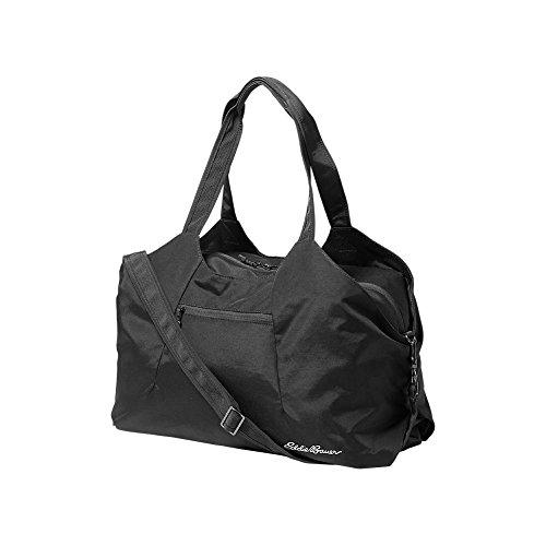 (Eddie Bauer Womens Zen Travel Tote, Black Regular ONE SIZE)