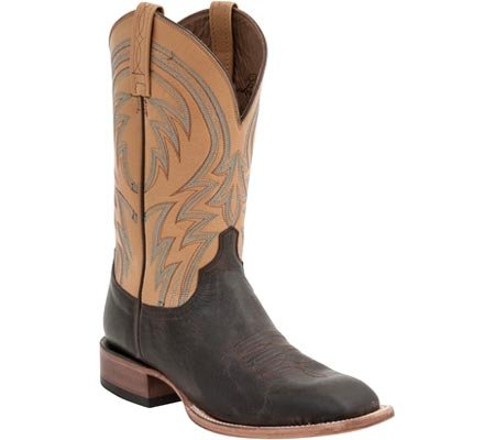 et cowboy Brown Bottes Dark D bottines homme Mc2662 Lucchese Weite Alan xXUFAwt