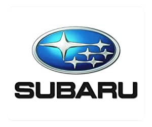Subaru Car Logo 008 rectangle Mouse Pad by eeMuse