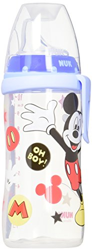 p, Mickey Mouse Design, 10 Ounce (Nuk Silicone)