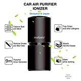 Thinkga Car Ionizer Air Purifier, Removes Dust, Cigarette Smoke, Bad Odors, Release Anion- Available for Automobile and Small Room (Black)