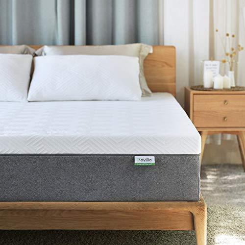 King Mattress, Novilla 10 inch Gel Memory Foam King Size Mattress for Cool Sleep & Pressure Relief, Medium Firm Bed Mattress, Bliss