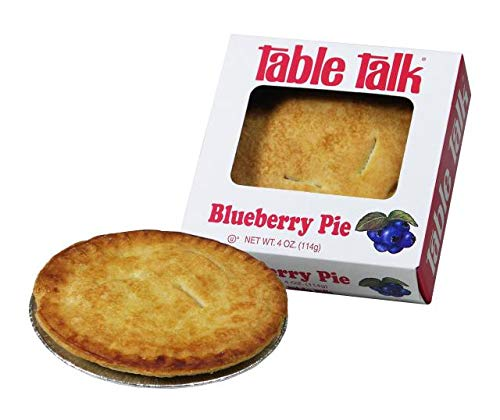 Table Talk Pie, Snack pies, 4oz - Pack of 2 (Blueberry) made in Massachusetts