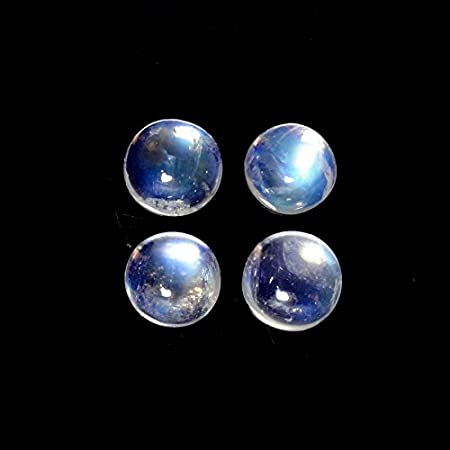 Wire Wrapping Moonstone 4x4 5x5 6x6 7x7 8x8 9x9 10x10 mm Gemstone For Jewelry Trillion Moonstone Cabochon Amazing Rainbow Moonstone