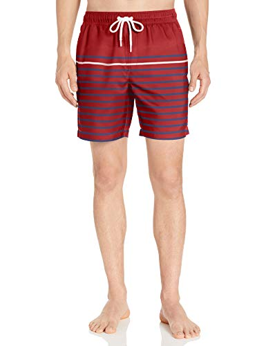 Amazon Essentials Men's 7″ Swim Trunk