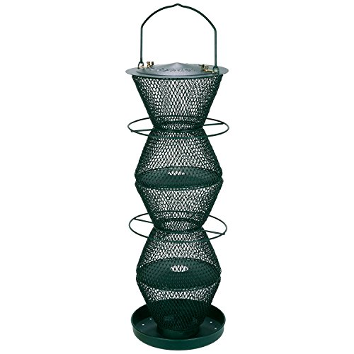(No/No Forest Green Five Tier Bird Feeder  G500332)